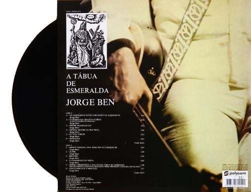 Lp Vinil Jorge Ben A Tabua De Esmeraldas