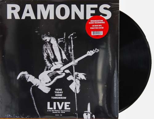 Lp Vinil Ramones Here Today Gone Tomorrow Live