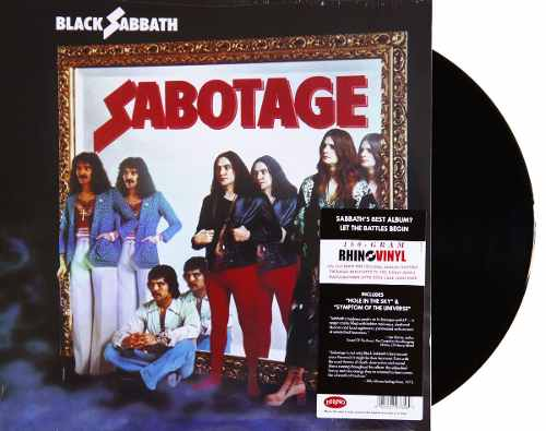 Lp Vinil Black Sabbath Sabotage