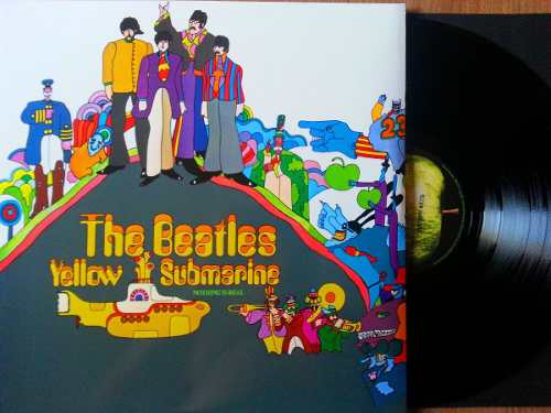 Lp Vinil The Beatles Yellow Submarine