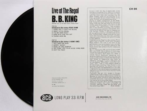 Lp BB King Live At The Regal