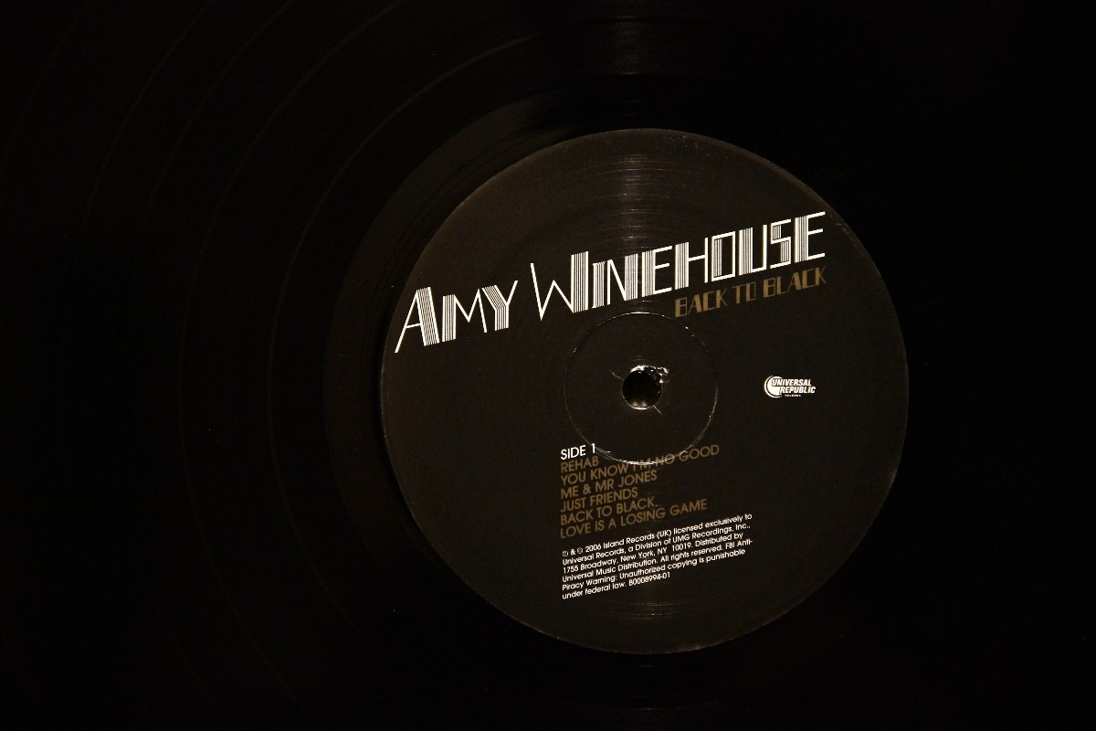 Lp Vinil Amy Winehouse Back To Black