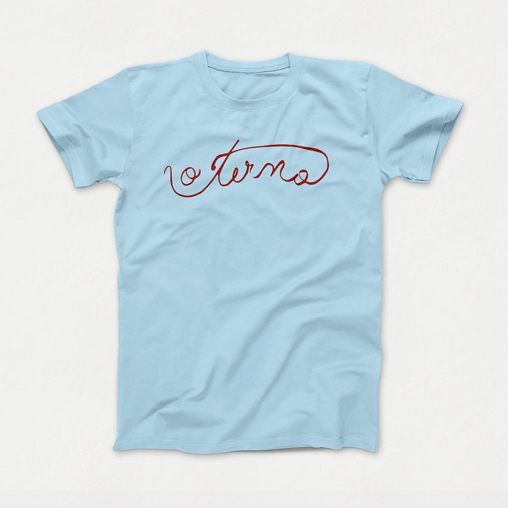 Camiseta O Terno Azul Claro