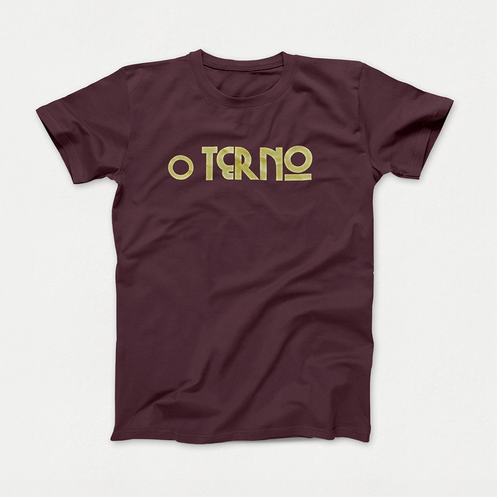 Camiseta O Terno Marrom