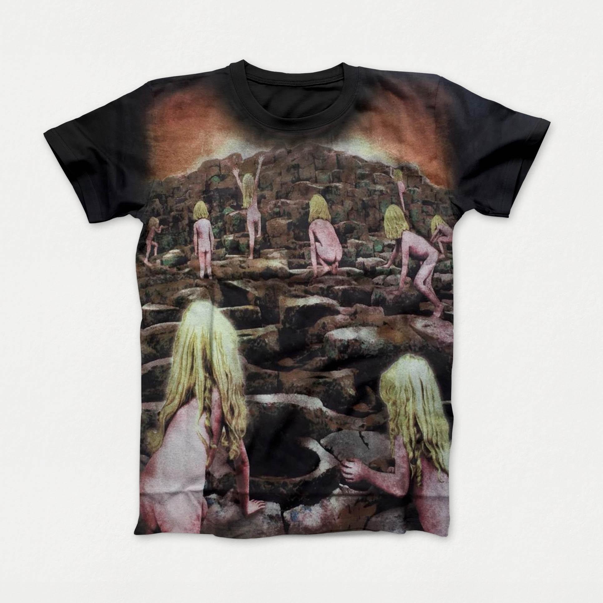 Camiseta Premium Led Zeppelin Houses Of The Holy