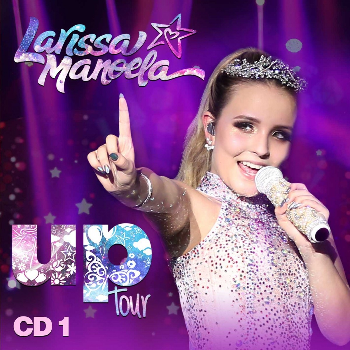 5619d068932cc Cd Larissa Manoela Up Tour Cd 1 - Bilesky Discos