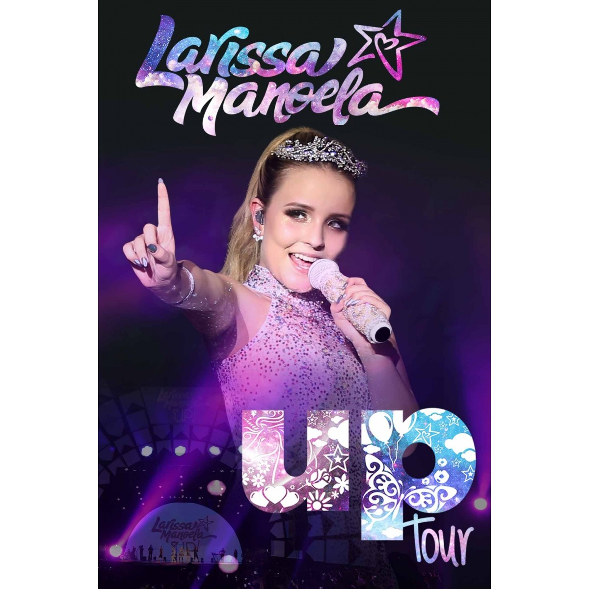 Dvd Larissa Manoela Up Tour