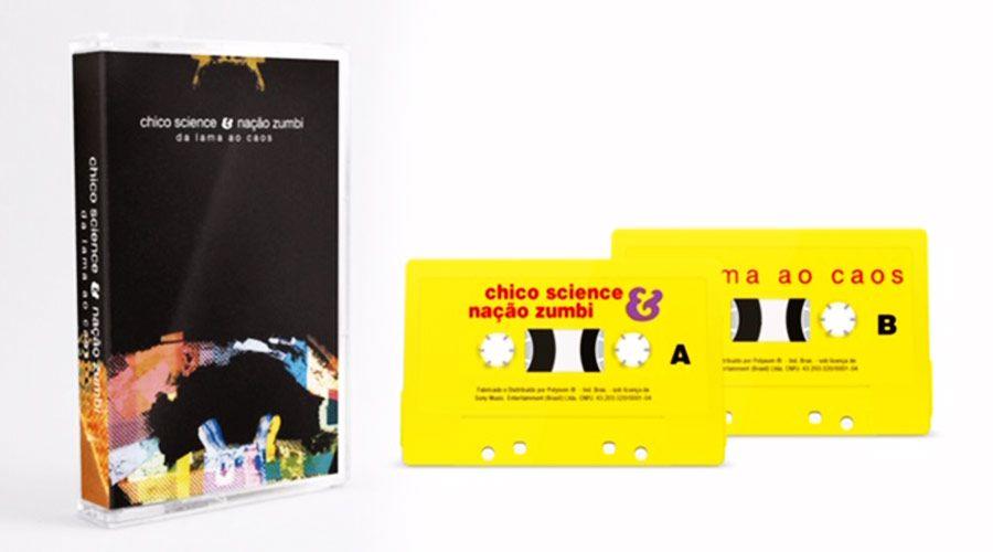 Fita K7 Cassete Chico Science e Nação Zumbi Da Lama Ao Caos