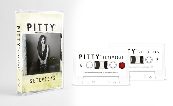 Fita K7 Cassete Pitty SeteVidas