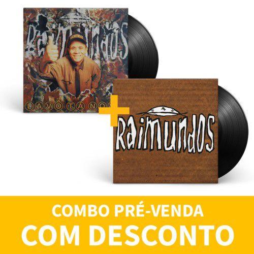 Kit Lp Vinil Raimundos Primeiro 1994 + Lavô Ta Novo