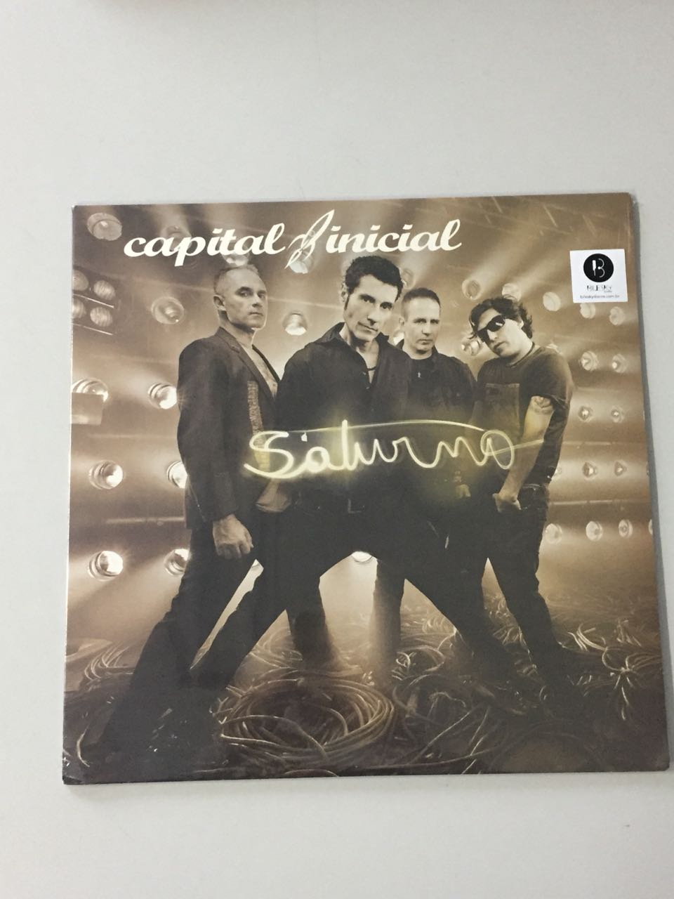 Lp Vinil Capital Inicial Saturno CAPA AMASSADA