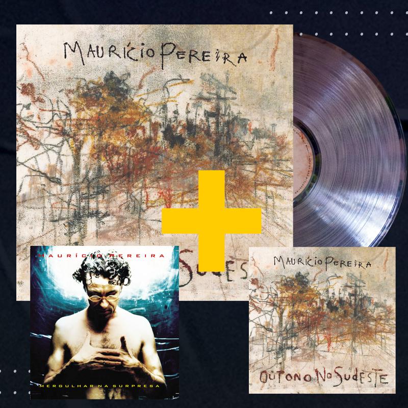 Lp + CD Mauricio Pereira Outono no Sudeste + CD Mergulhar na Surpresa