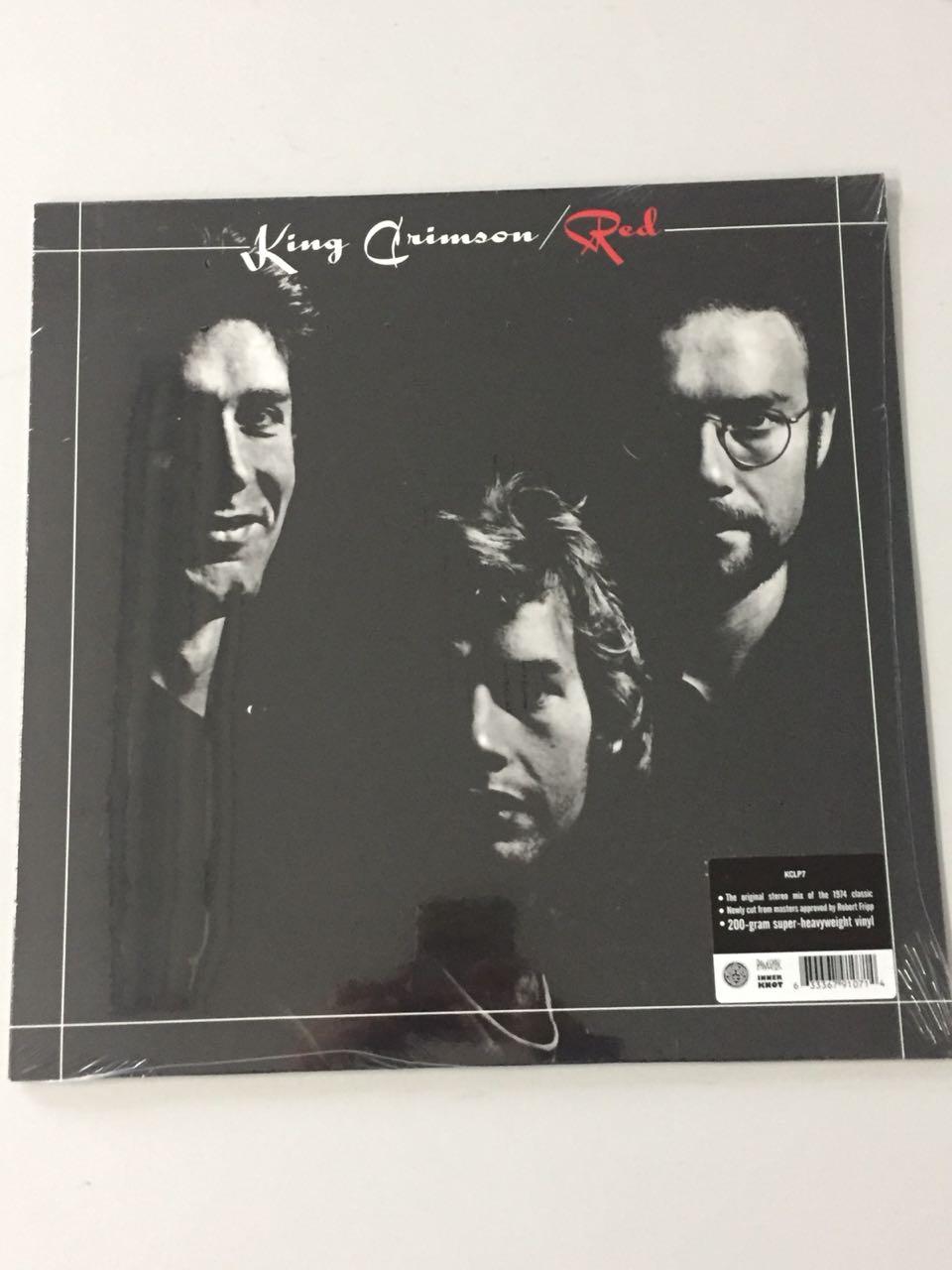 Lp Vinil King Crimson Red CAPA AMASSADA