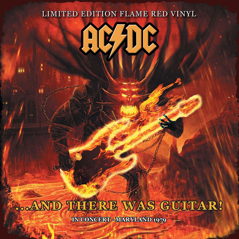 Lp Vinil ACDC And There Was Guitar!  CAPA ESTRAGADA