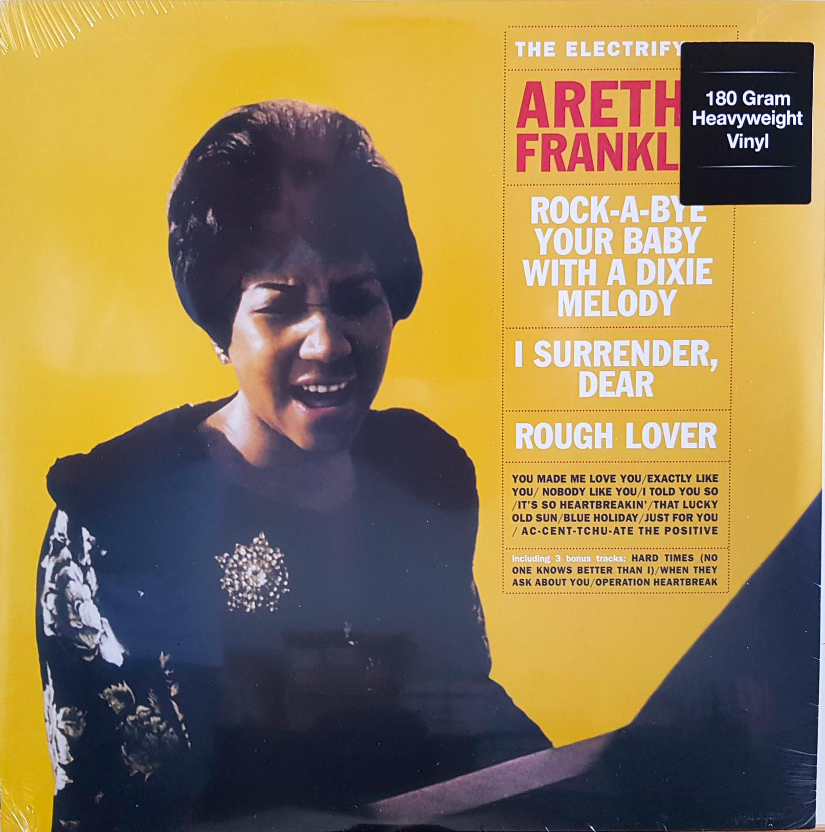 Lp Vinil Aretha Franklin The Electrifying