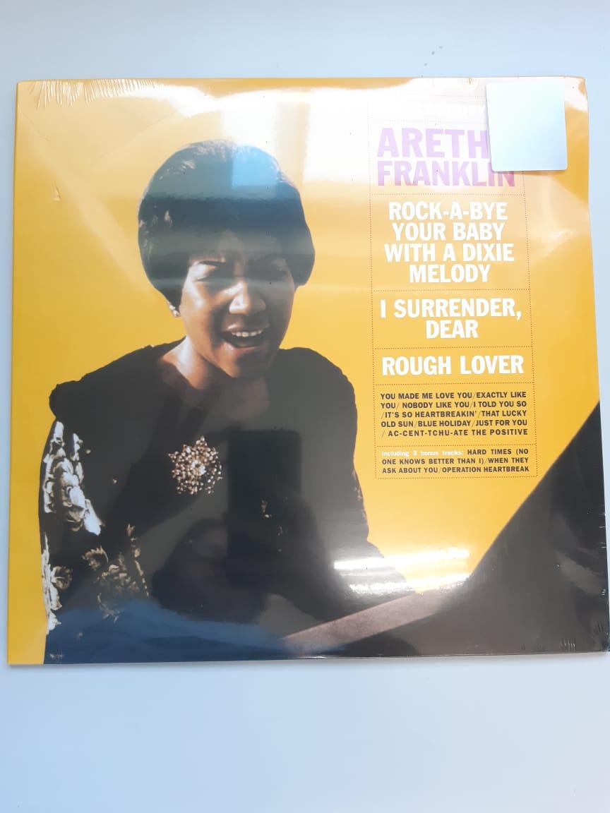 Lp Vinil Aretha Franklin The Electrifying Aretha Franklin CAPA COM PEQUENO AMASSADO