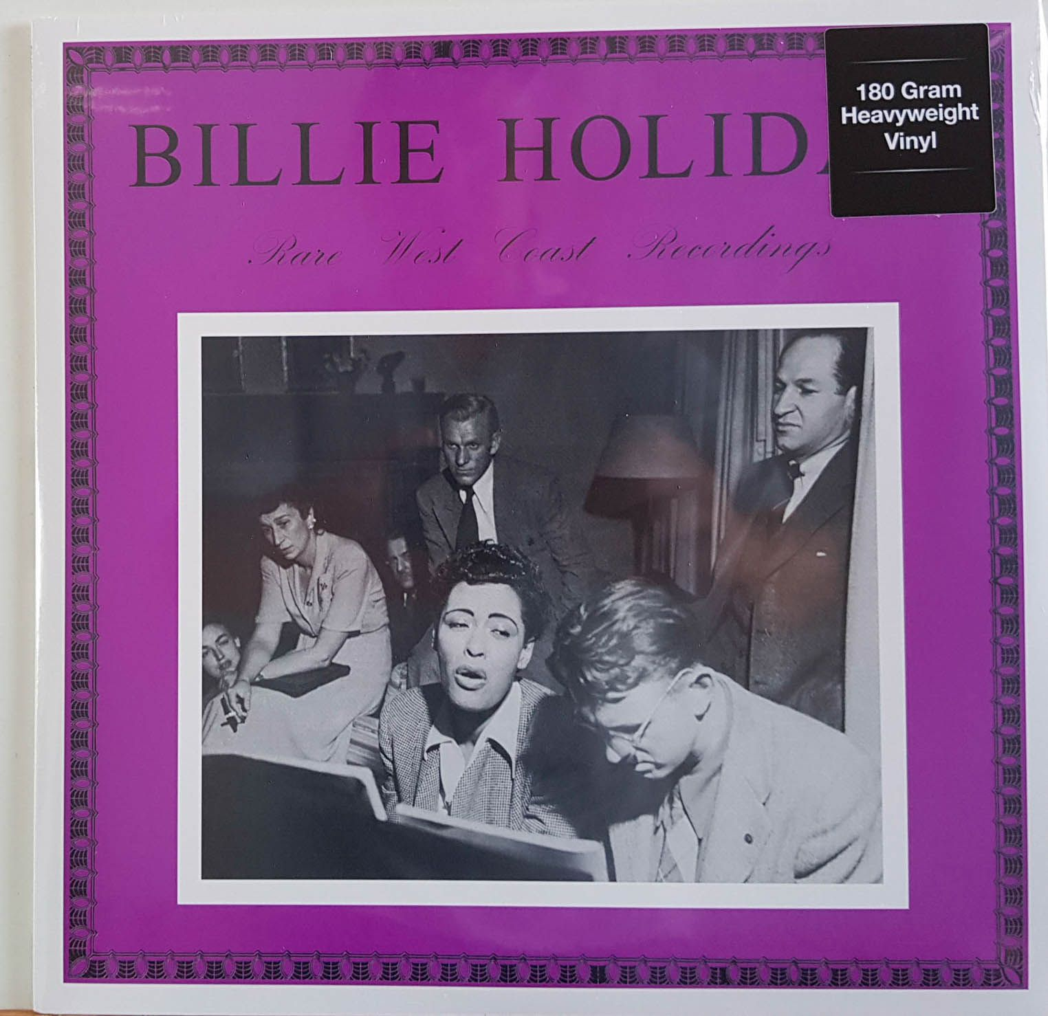 Lp Vinil Billie Holiday Rare West Coast Recordings