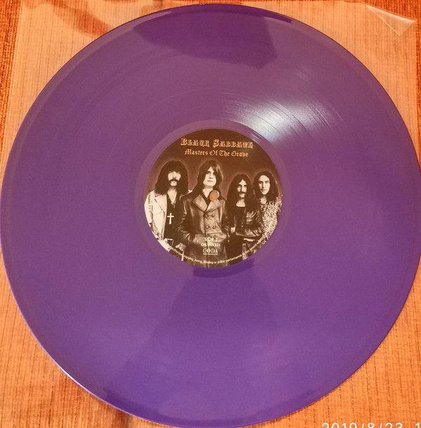 Lp Vinil Black Sabbath Masters Of The Grave CAPA COM PEQUENO RASGADO