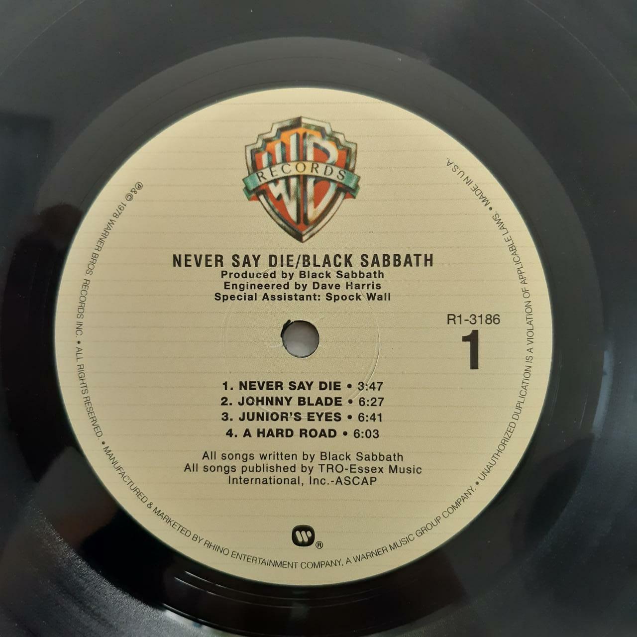 Lp Vinil Black Sabbath Never Say Die