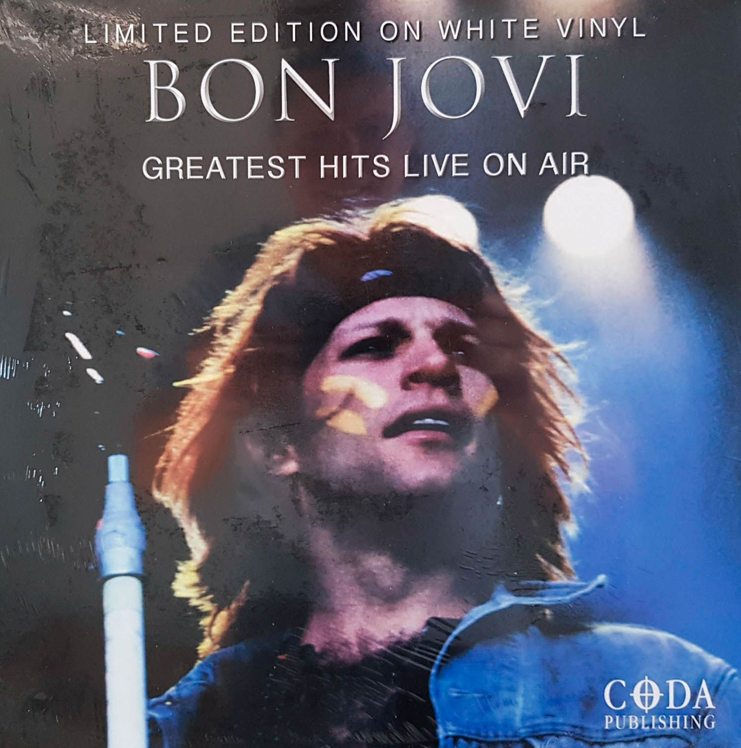 Lp Vinil Bon Jovi Greatest Hits Live On Air