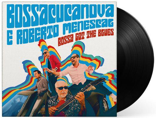 Lp Vinil Bossacucanova e Roberto Menescal  Bossa Got The Blues