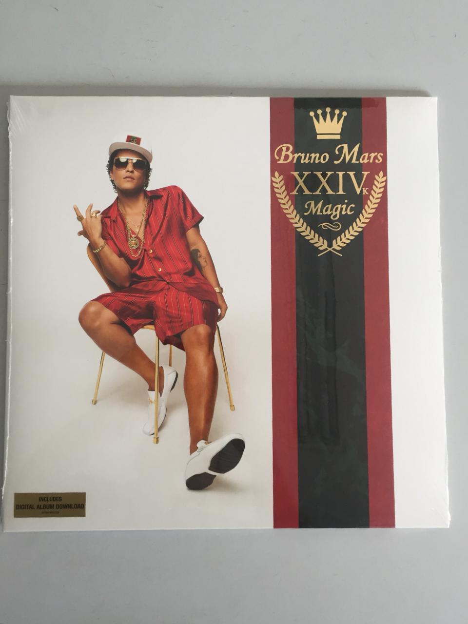 Lp Vinil Bruno Mars 24k Magic CAPA AMASSADA