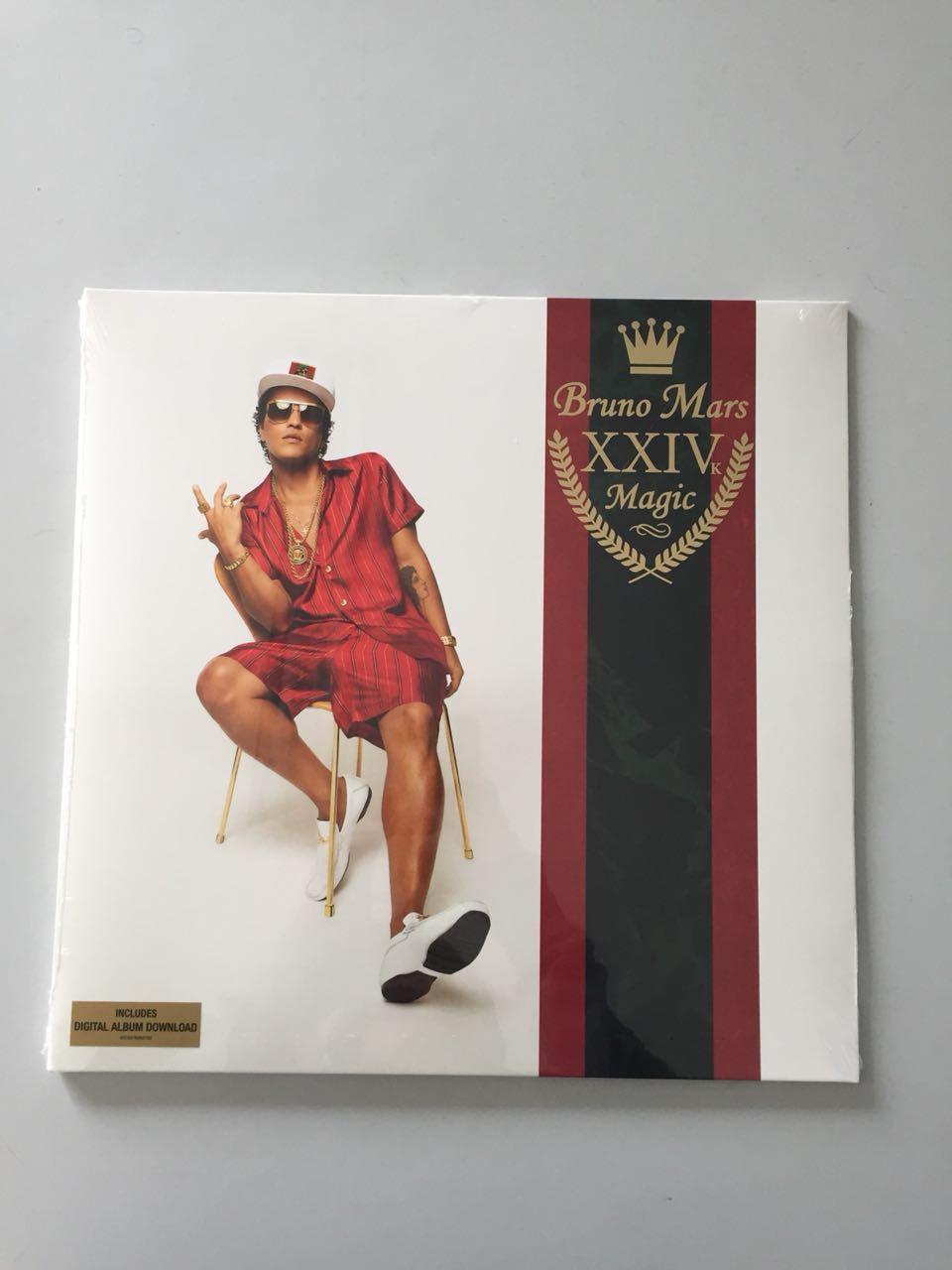 Lp Vinil Bruno Mars 24k Magic CAPA ESTRAGADA