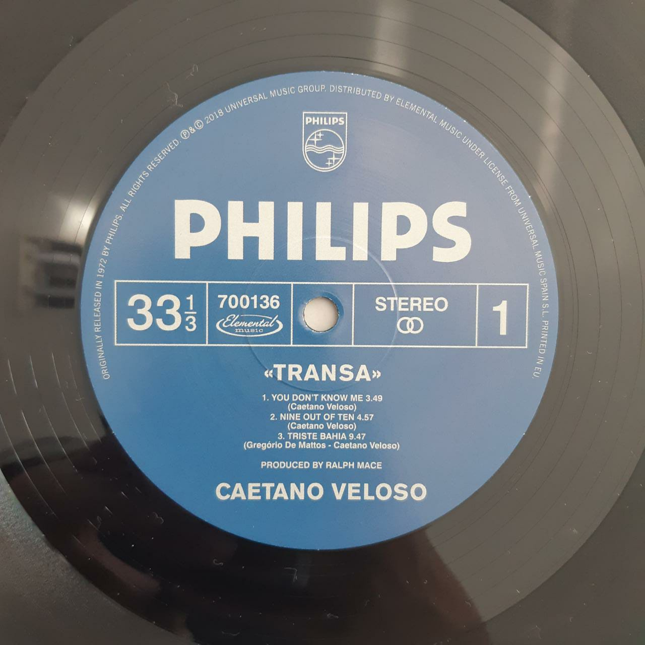 Lp Vinil Caetano Veloso Transa