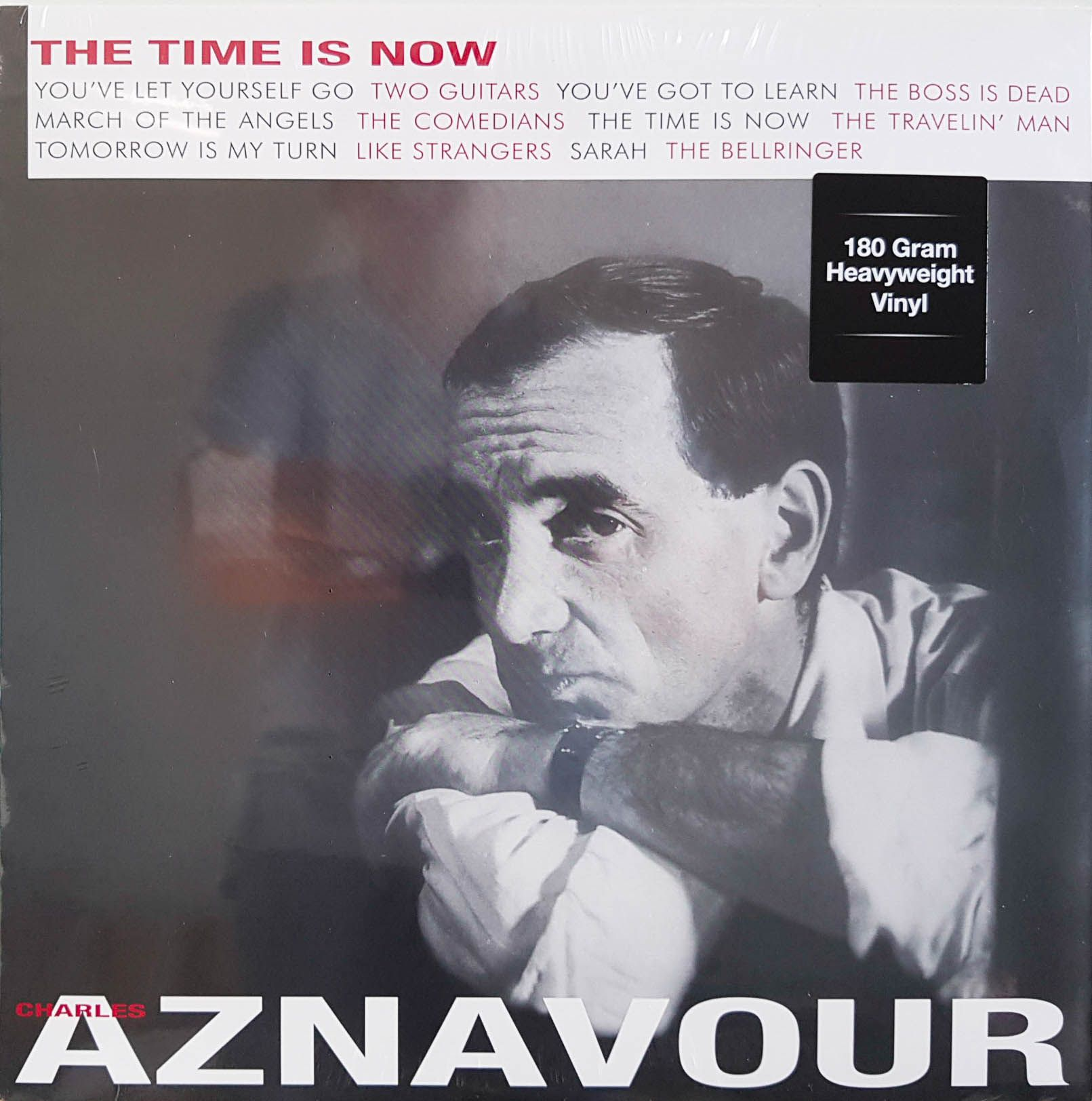 Lp Vinil Charles Aznavour The Time Is Now