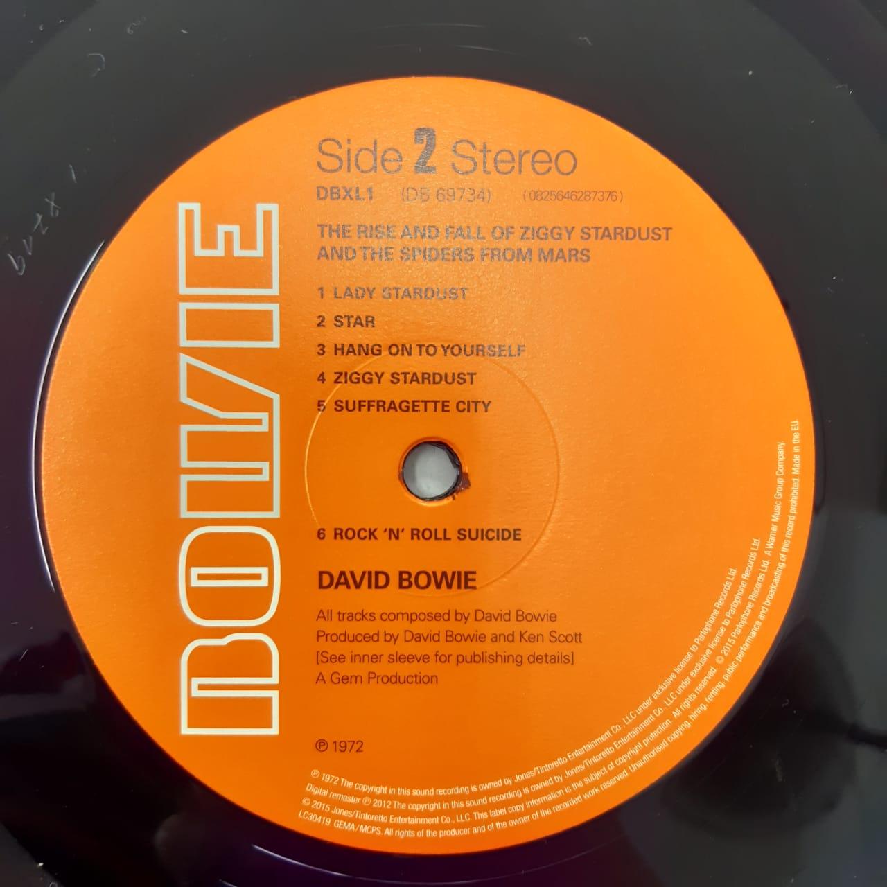Lp Vinil David Bowie Ziggy Stardust