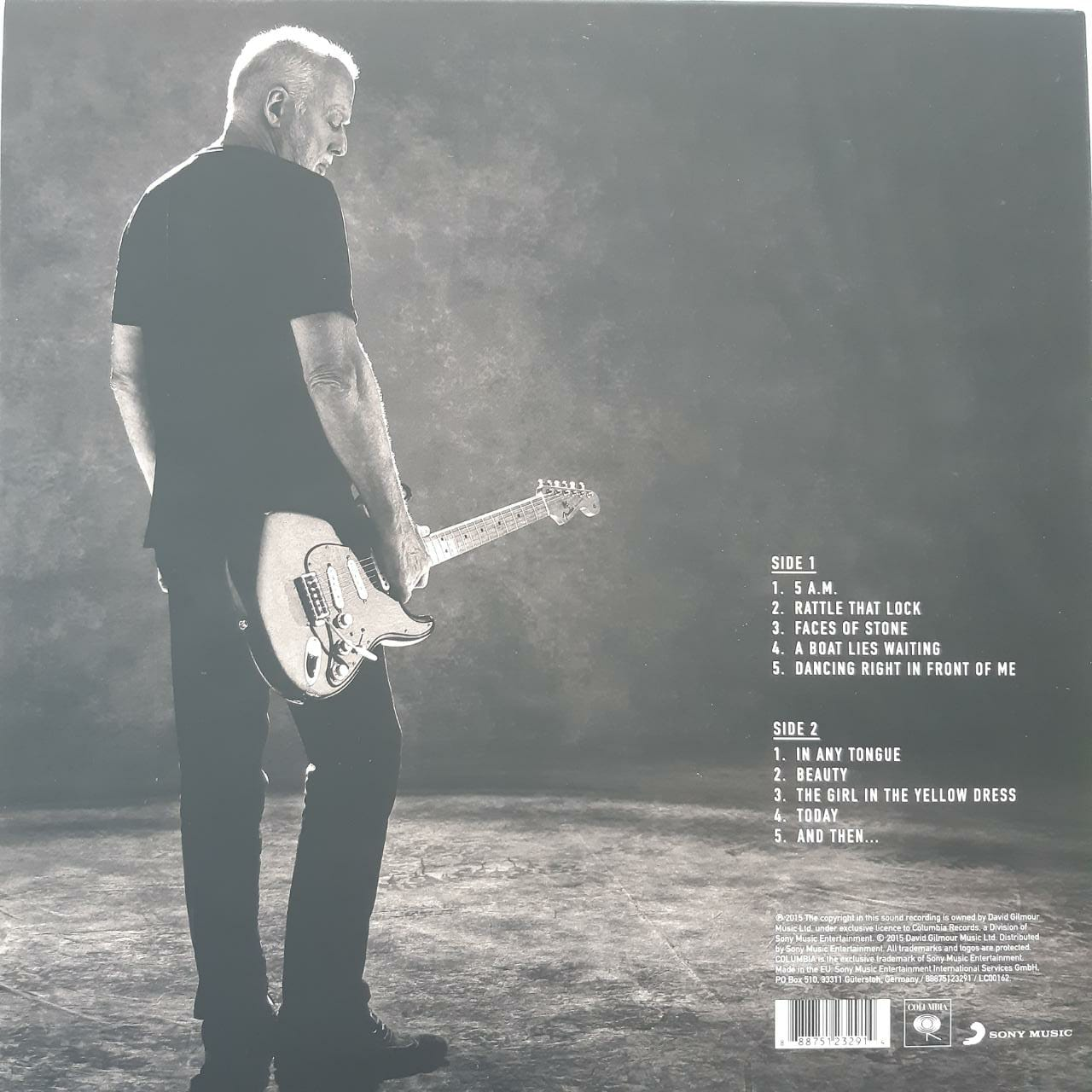 Lp Vinil David Gilmour Rattle That Lock