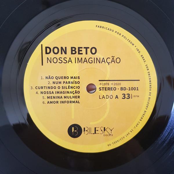 Lp Vinil Don Beto Nossa Imaginação