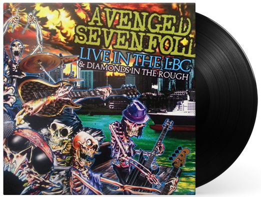 Lp Vinil + Dvd Avenged Sevenfold Live In The Lbc