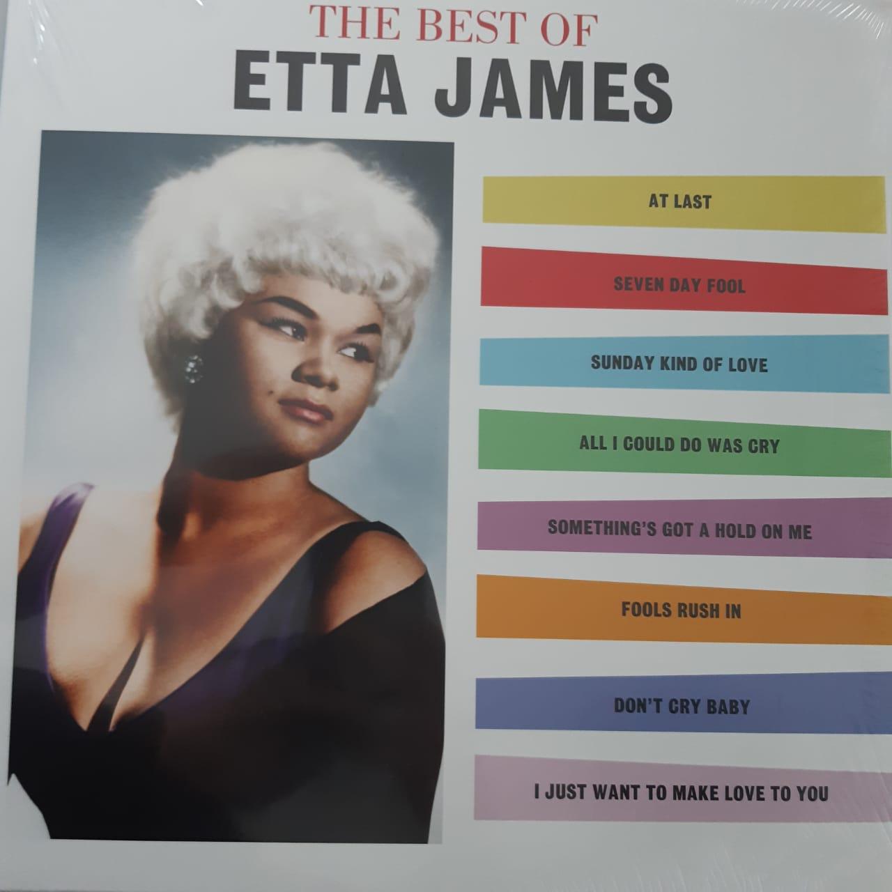 Lp Vinil Etta James The Best Of