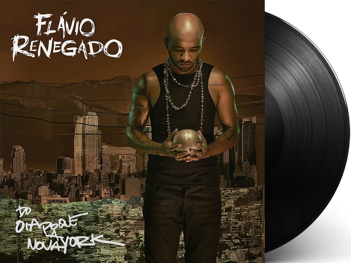 Lp Vinil Flávio Renegado Do Oiapoque A Nova York