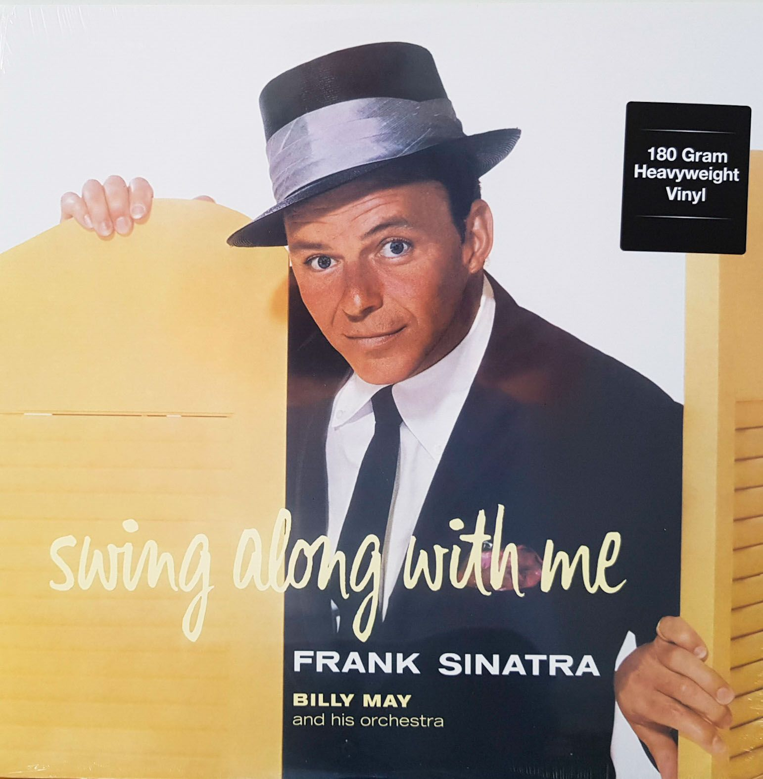 Lp Vinil Frank Sinatra Swing Along With Me