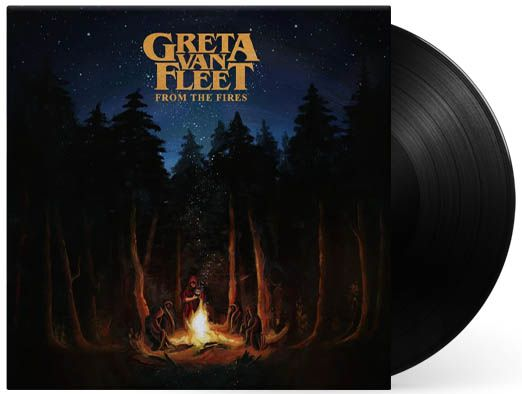 Lp Vinil Greta Van Fleet From The Fires