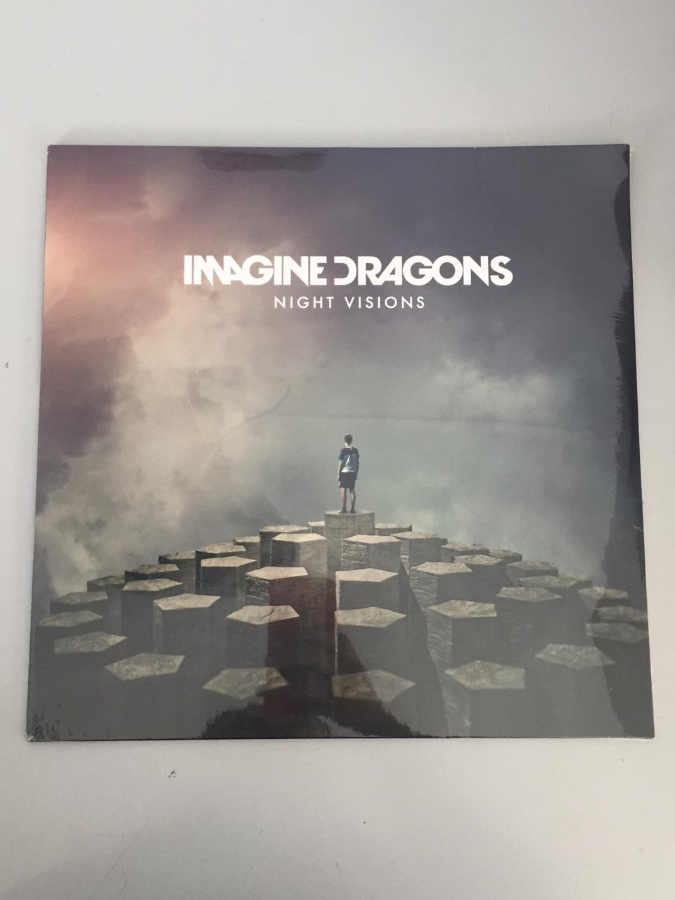 Lp Vinil Imagine Dragons Night Visions CAPA AMASSADA