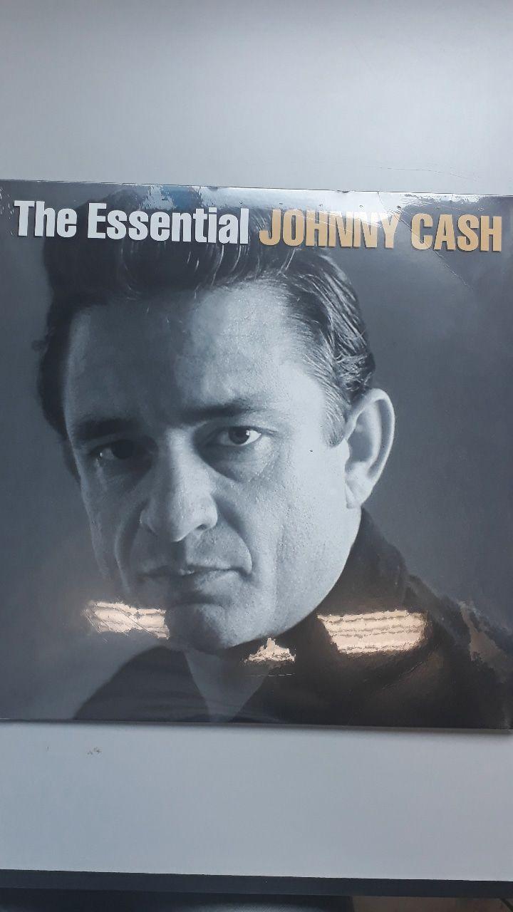 Lp Vinil Johnny Cash The Essential Johnny Cash CAPA COM LEVE AMASSADO