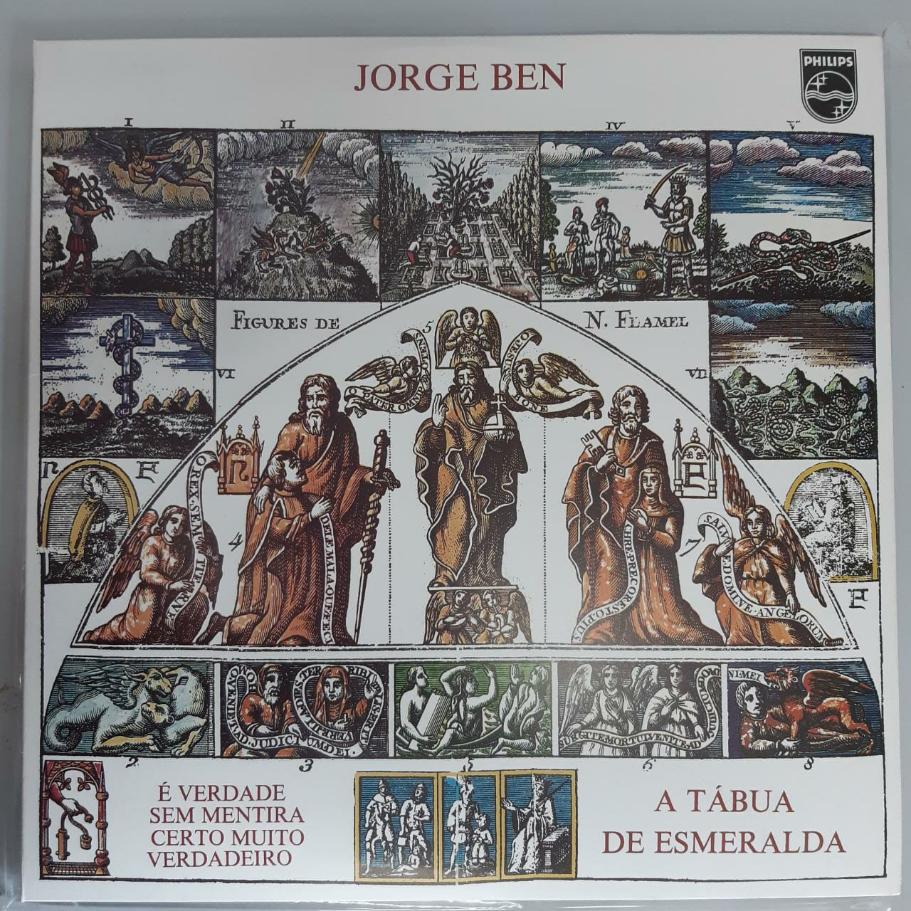 Lp Vinil Jorge Ben A Tabua De Esmeralda NÃO LACRADO