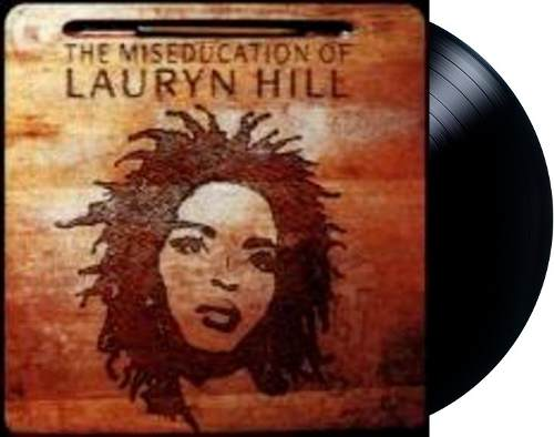 Lp Vinil Lauryn Hill The Miseducation of Lauryn Hill CAPA COM LEVE AMASSADO
