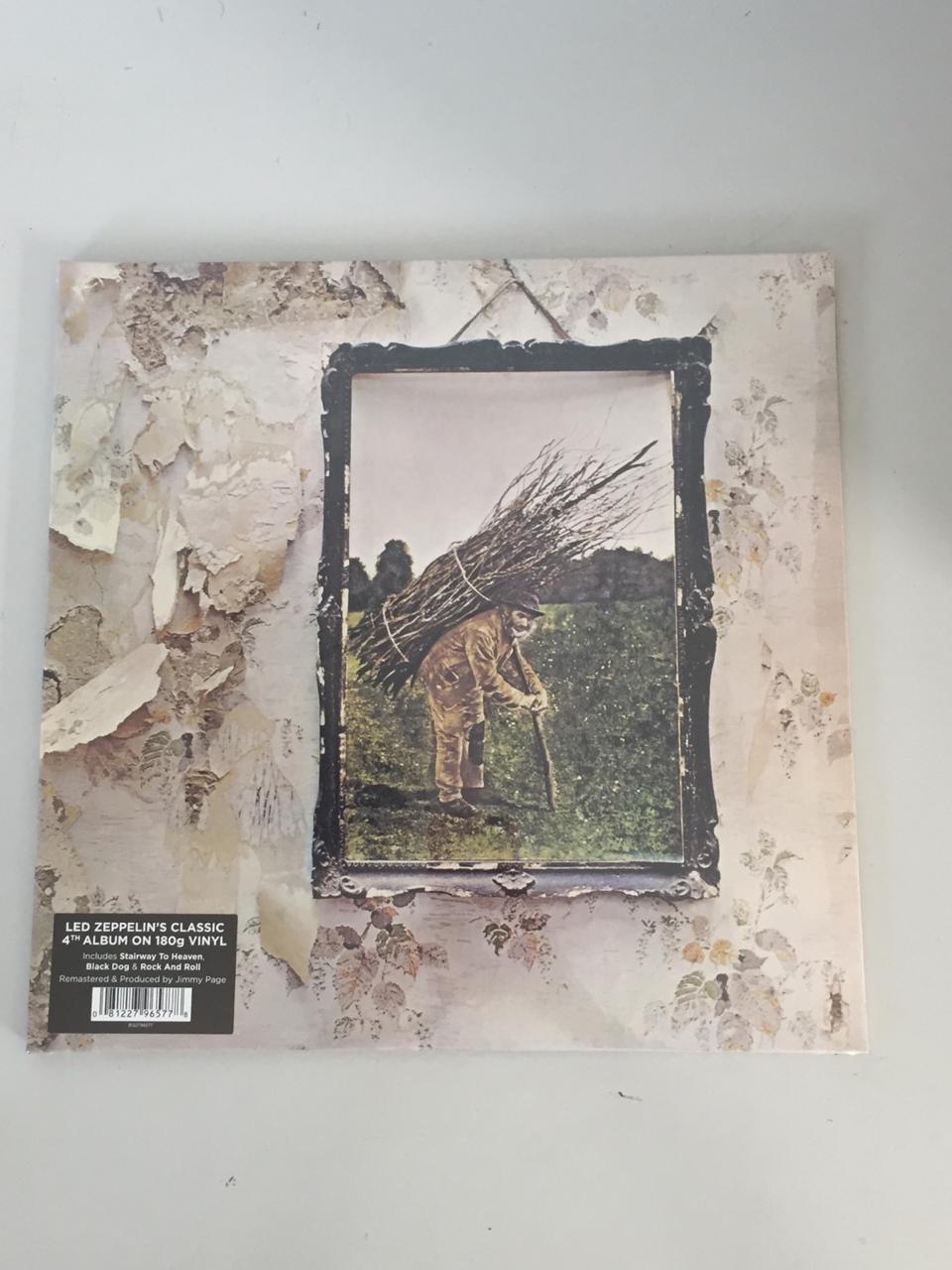 Lp Vinil Led Zeppelin IV CAPA AMASSADA