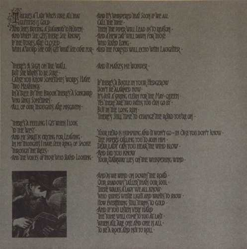 Lp Vinil Led Zeppelin IV CAPA COM PEQUENO RASGADO