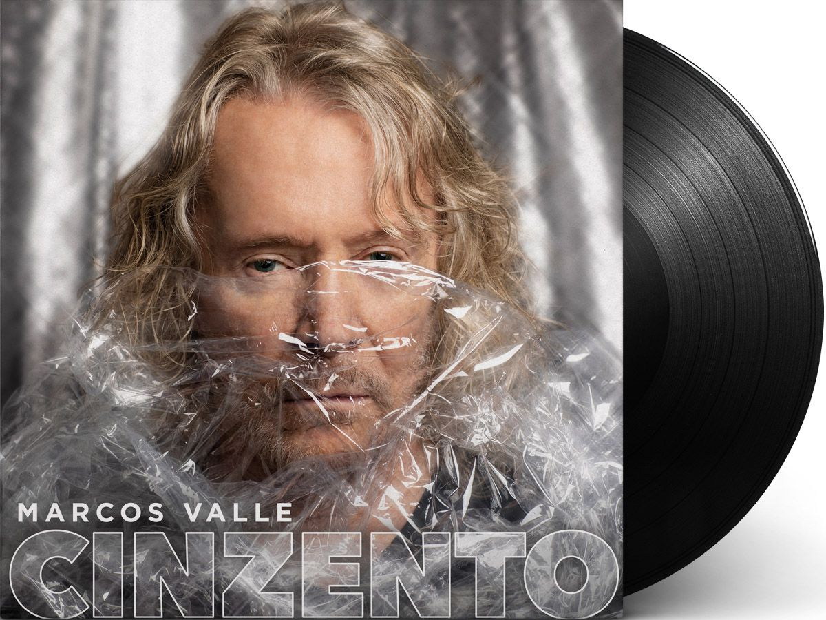Lp Vinil Marcos Valle Cinzento