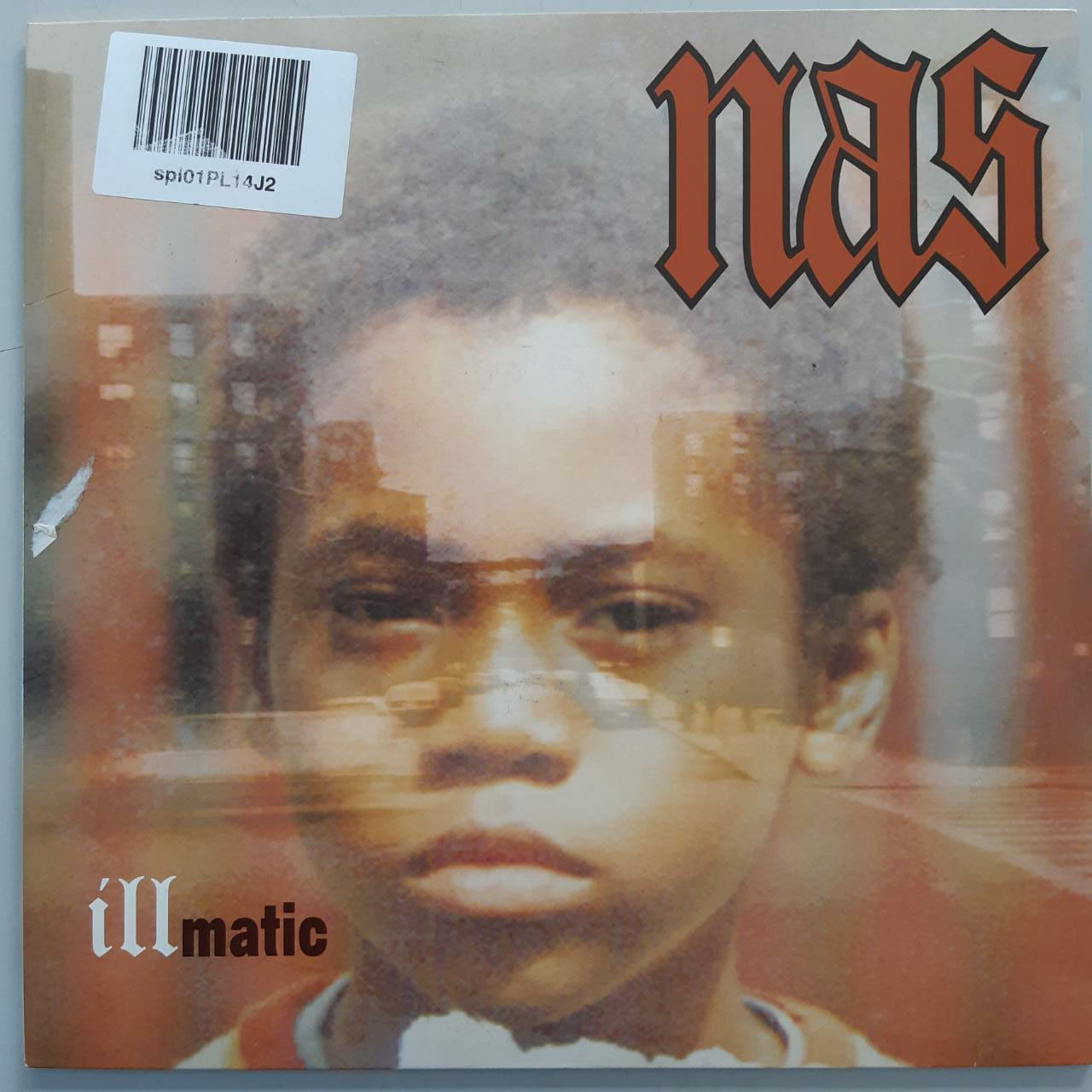 Lp Vinil Nas Illmatic