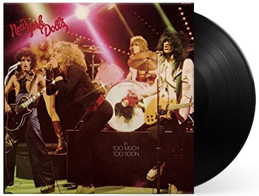 Lp Vinil New York Dolls in Too Much Too Soon
