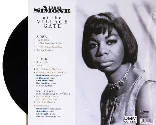 Lp Vinil Nina Simone At The Village Gate CAPA COM LEVE AMASSADO