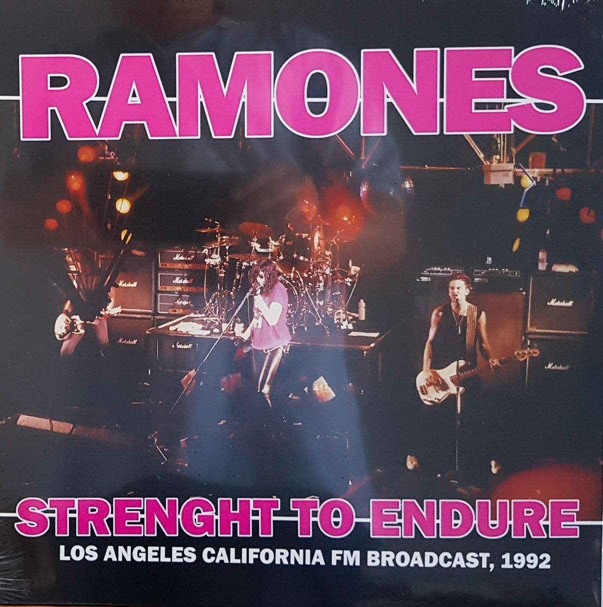 Lp Vinil Ramones Strength To Endure