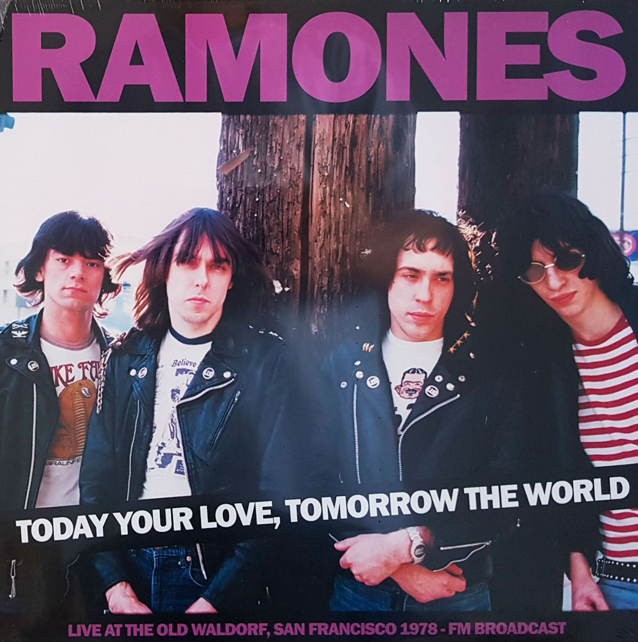 Lp Vinil Ramones Today Your Love, Tomorrow The World