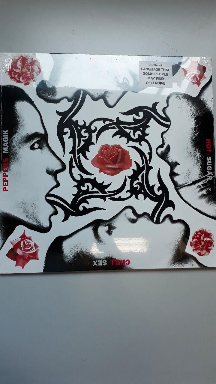 Lp Vinil Red Hot Chili Peppers Blood Sugar Sex Magik CAPA COM LEVE AMASSADO
